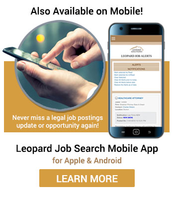 attorney jobs, law firm jobs