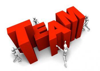 teamwork, working as a team
