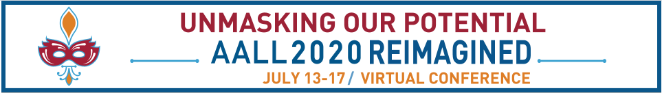 Unmasking our potential, AALL 2020
