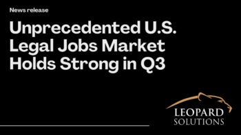 unprecedented US legal jobs market holds strong in q3